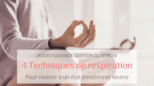 Audio-guidage : Techniques de relaxation rapide par la respiration