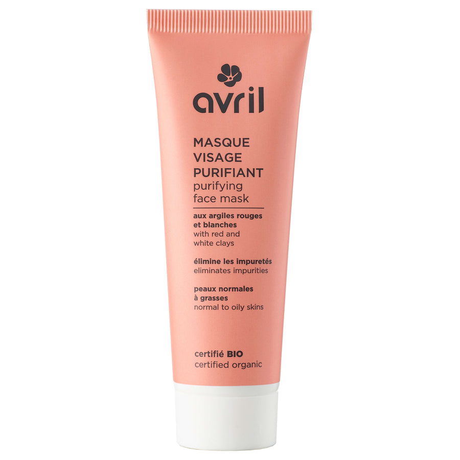 Masque visage purifiant - Avril