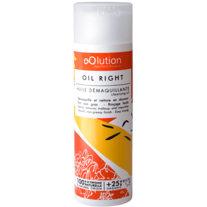Oil Right - Huile démaquillante make up tenace - Oolution