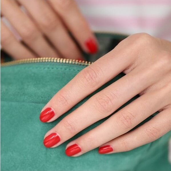Vernis Green Poppy Red - Manucurist