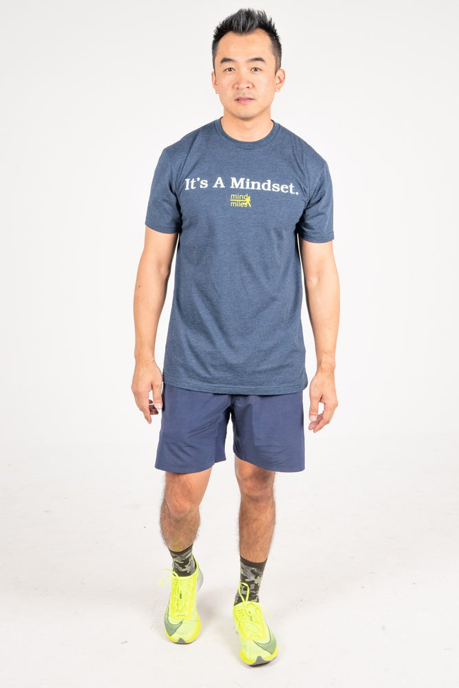 MEN'S IT'S A MINDSET TEE - NAVY