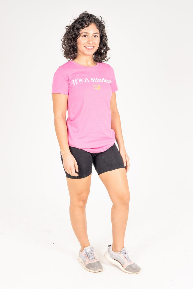 WOMEN'S IT'S A MINDSET TEE - PINK