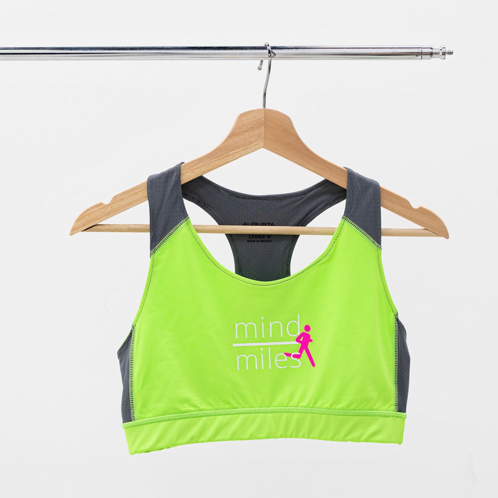 SPORTS BRA - LIME GREEN