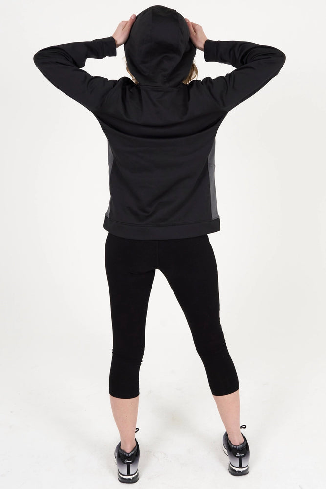 WOMEN'S BLACK SWEATSHIRT