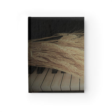 Wheat on Piano Hardback Journal