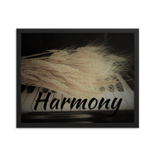 Load image into Gallery viewer, Framed Poster-Harmony-Wheat on Piano