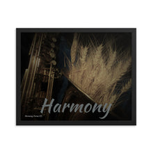 Load image into Gallery viewer, Framed poster-Wheat on Saxophone, Harmony