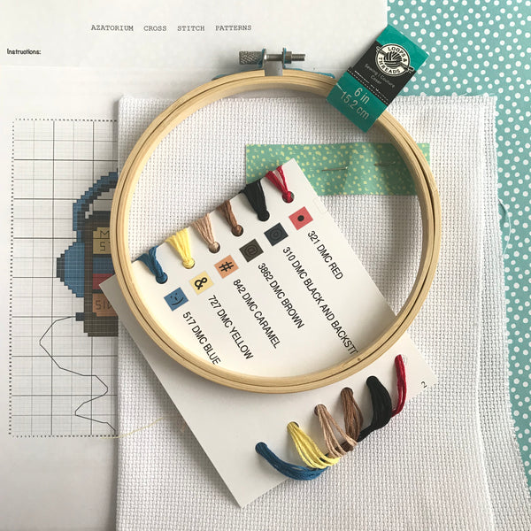DIY Cross Stitch Kit, No Sleep Til 416