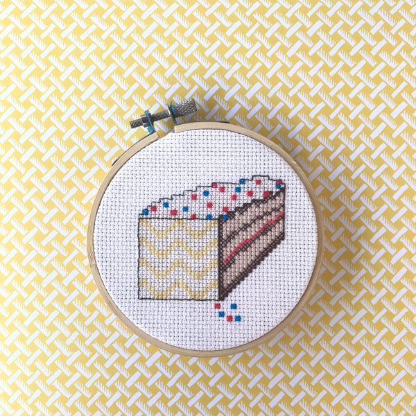 'Try Me' DIY Cross Stitch Kit