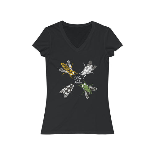 Fly Series Short Sleeve V-Neck Tee