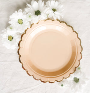 Pretty in Pink Small Plates - Banner & Bow