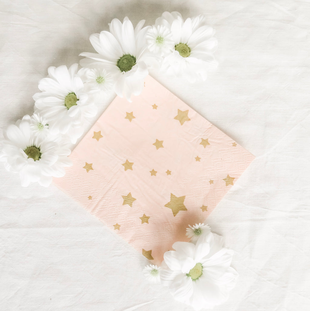 Steel Magnolias Napkins - Banner & Bow
