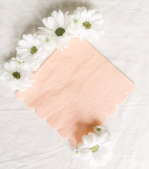 Pretty in Pink Napkins - Banner & Bow