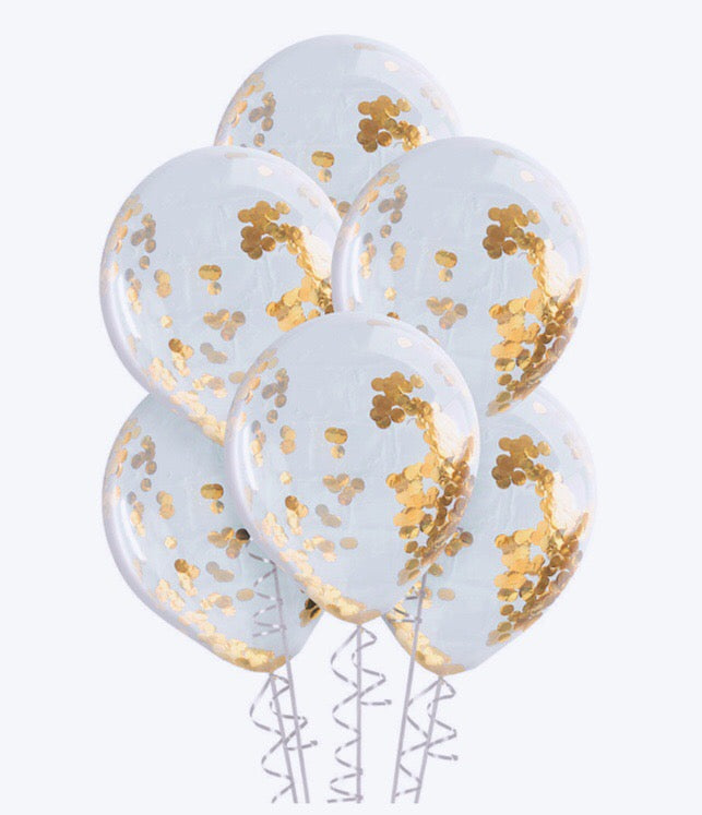 Golden Girls Balloons - Banner & Bow