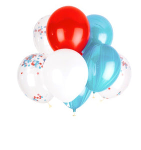 Happy Days Balloons - Banner & Bow