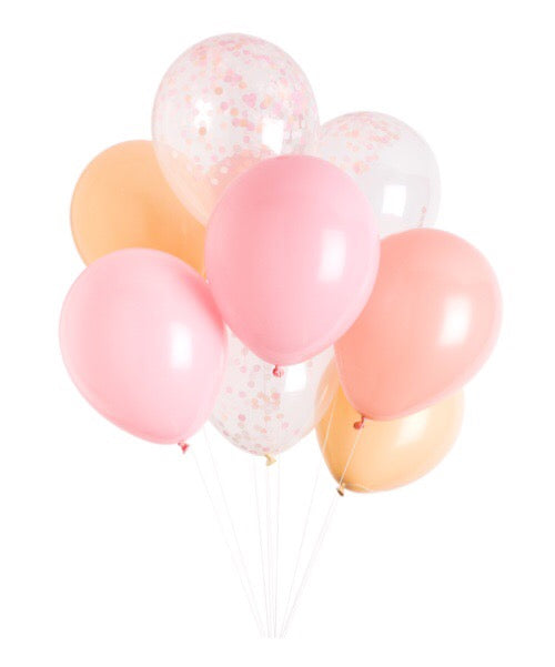 Facts of Life Balloons - Banner & Bow