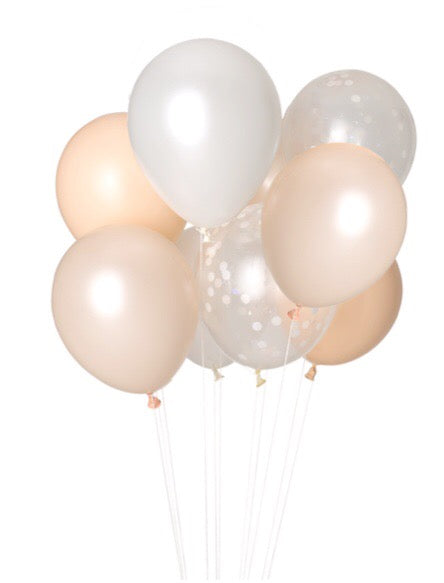 Bewitched Balloons - Banner & Bow