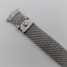 "Load image into Gallery viewer, Wide Version Komfit ""JB"" Mesh Watch Bracelet with Straight Ends"