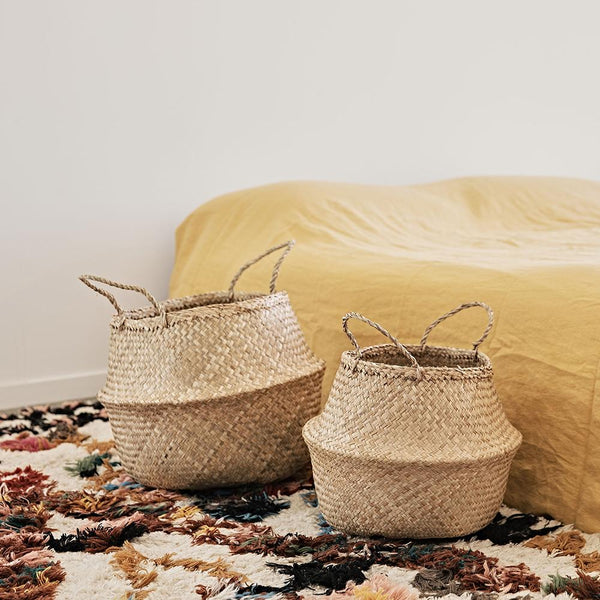 Natural Belly Basket - Medium