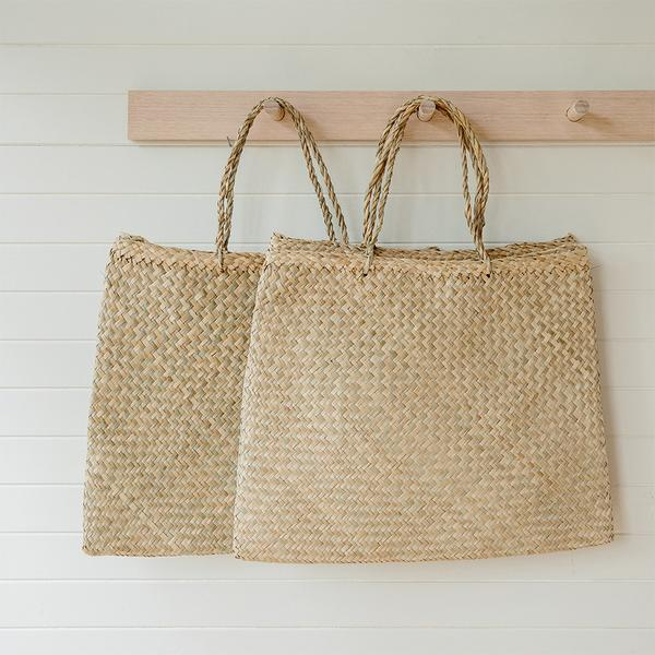 Bag - Basse Seagrass Tote