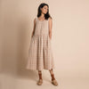 Cassia Dress - Adobe Check