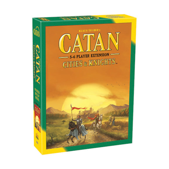 Catan - Cities & Knights: Extension 5-6 Player