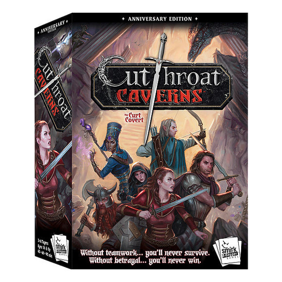 Cutthroat Caverns: Anniversary - Base Game