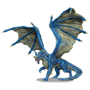 D&D Fantasy Miniatures: Adult Blue Dragon Premium Figure