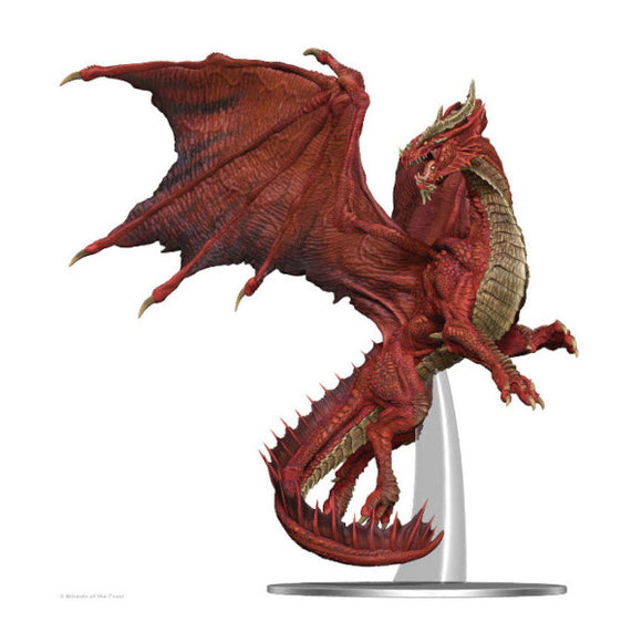 D&D Fantasy Miniatures: Adult Red Dragon Premium Figure
