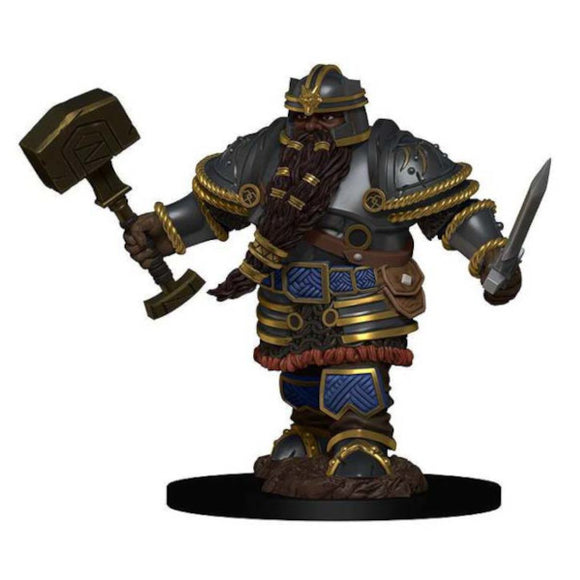 D&D Icons of the Realm: Premium Figures - Dwarf Male Fighter (Wave 2)