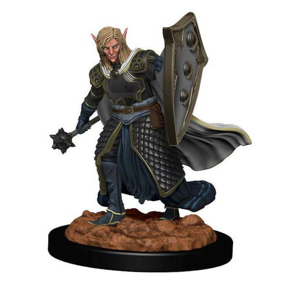 D&D Icons of the Realm: Premium Figures - Elf Male Cleric (Wave 2)