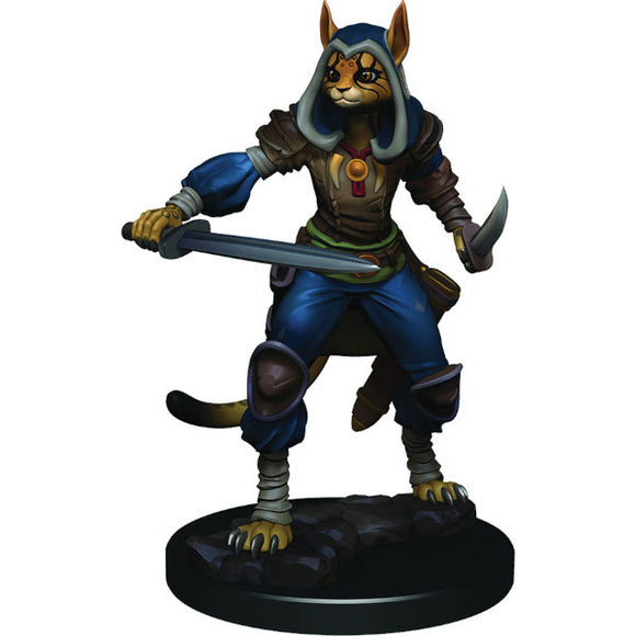 D&D Icons of the Realm: Premium Figures - Female Tabaxi Rogue (Wave 3)