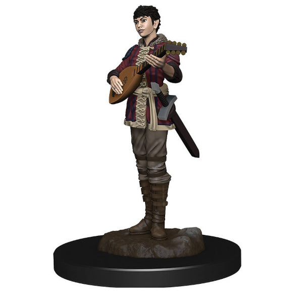 D&D Icons of the Realm: Premium Figures - Half-Elf Female Bard (Wave 4)