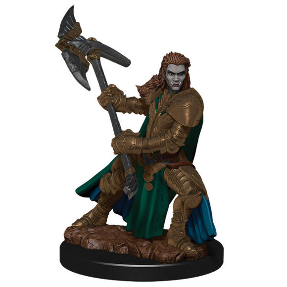 D&D Icons of the Realm: Premium Figures - Half-Orc Female Fighter (Wave 4)