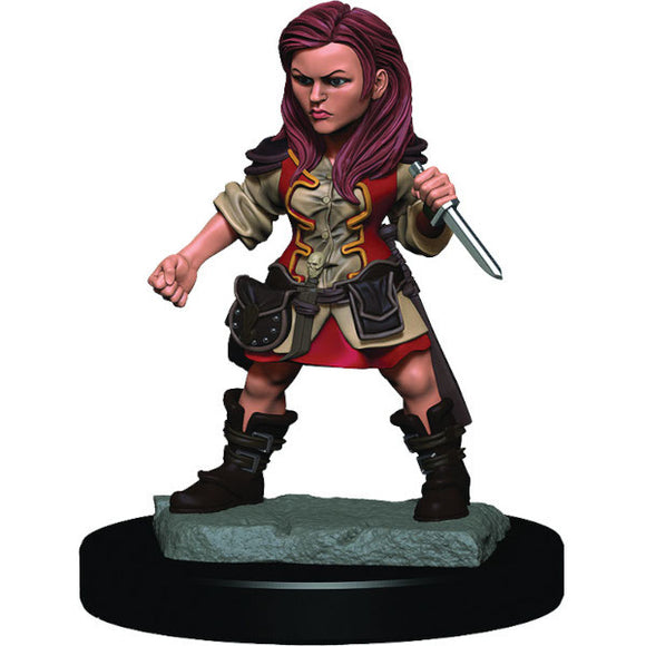 D&D Icons of the Realm: Premium Figures - Halfling Female Rogue (Wave 3)