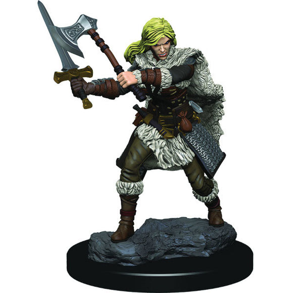 D&D Icons of the Realm: Premium Figures - Human Female Barbarian (Wave 3)