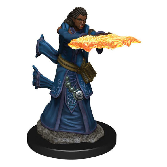 D&D Icons of the Realm: Premium Figures - Human Female Wizard (Wave 5)