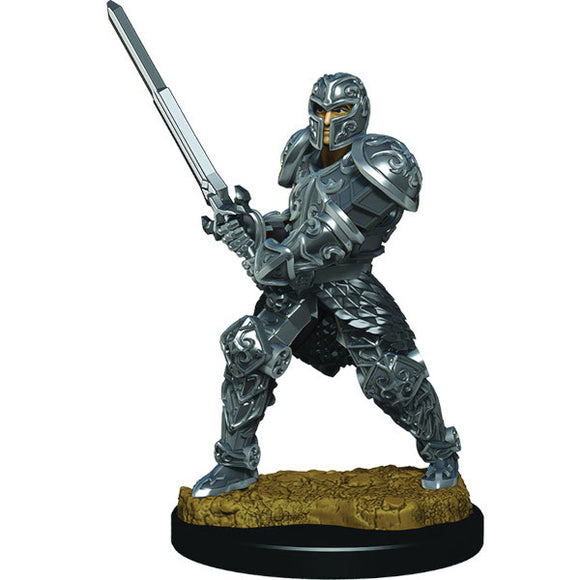 D&D Icons of the Realm: Premium Figures - Human Male Fighter (Wave 3)