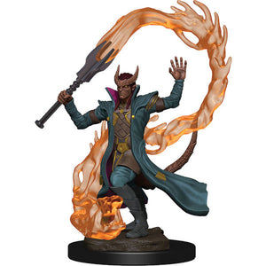 D&D Icons of the Realm: Premium Figures - Tiefling Male Sorcerer (Wave 1)