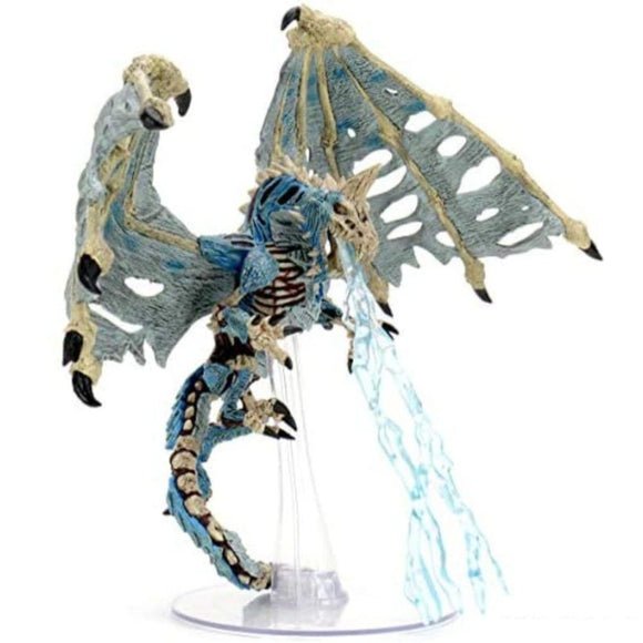 D&D Icons of the Realms: Boneyard - Blue Dracolich Premium Figure