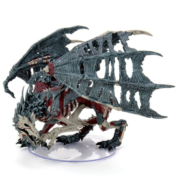 D&D Icons of the Realms: Boneyard - Green Dracolich Premium Figure
