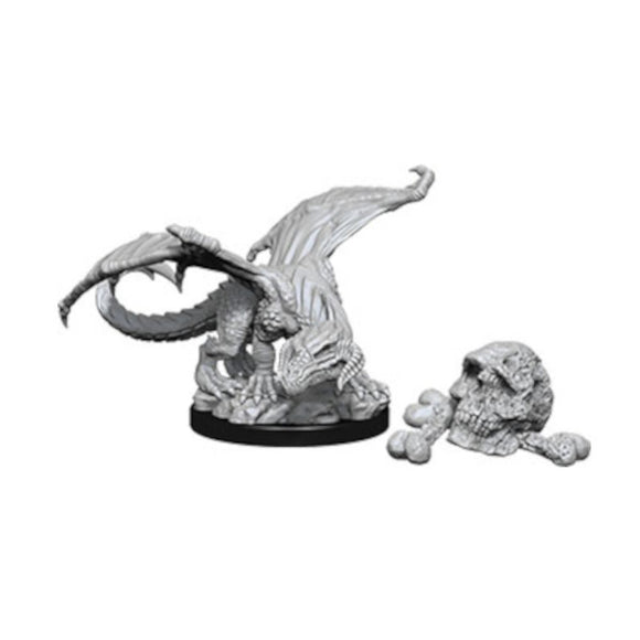 D&D Nolzur's Marvelous Miniatures: Black Dragon Wyrmling (Wave 10)