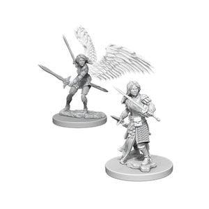 D&D Nolzur's Marvelous Miniatures: Female Aasimar Paladin (Wave 5)