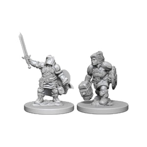 D&D Nolzur's Marvelous Miniatures: Female Dwarf Paladin (Wave 3)