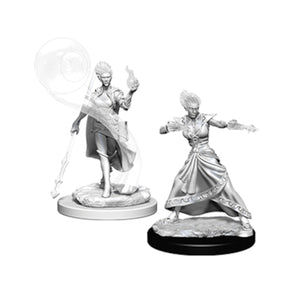 D&D Nolzur's Marvelous Miniatures: Female Fire Genasi Wizard (Wave 5)