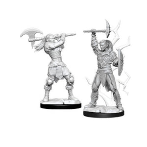 D&D Nolzur's Marvelous Miniatures: Female Goliath Barbarian (Wave 10)