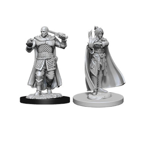 D&D Nolzur's Marvelous Miniatures: Human Ranger & Moon Elf Sorcerer (Wave 8)