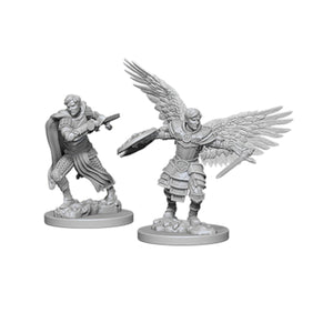 D&D Nolzur's Marvelous Miniatures: Male Aasimar Fighter (Wave 6)