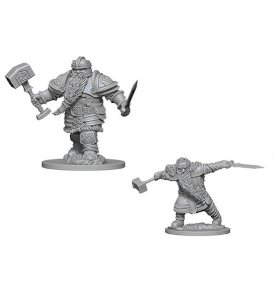 D&D Nolzur's Marvelous Miniatures: Male Dwarf Fighter (Wave 1)