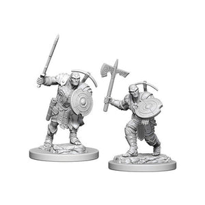 D&D Nolzur's Marvelous Miniatures: Male Earth Genasi Fighter (Wave 4)